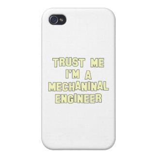 Confíe en que yo es ingeniero industrial iPhone 4 carcasa