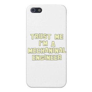 Confíe en que yo es ingeniero industrial iPhone 5 carcasas