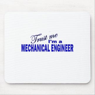 Confíe en que yo es ingeniero industrial mouse pads