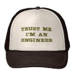 Confíe en que yo es ingeniero (marrón) gorros bordados