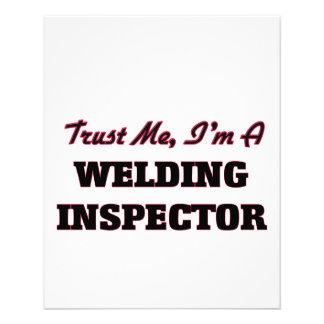 Confíe en que yo es inspector de la soldadura tarjetón