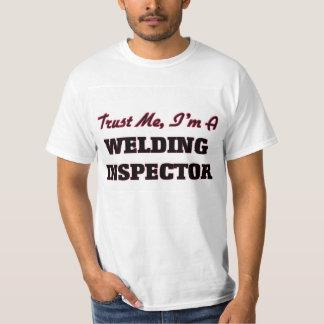 Confíe en que yo es inspector de la soldadura playera