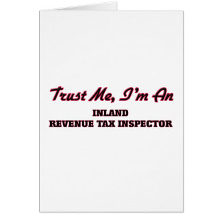Confíe en que yo es inspector del impuesto de tarjetón