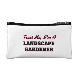 Confíe en que yo es jardinero de paisaje