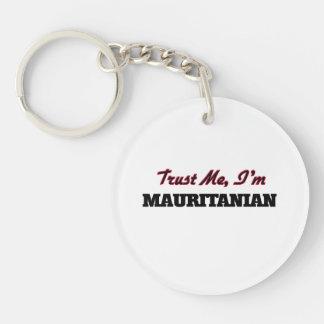 Confíe en que yo es mauritano llaveros