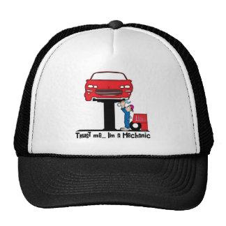 Confíe en que yo es mecánico de automóviles divert gorras de camionero