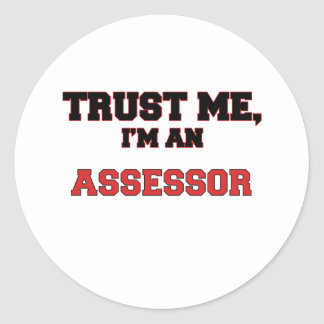 Confíe en que yo es mi asesor etiquetas redondas