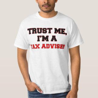 Confíe en que yo es mi consejero de impuesto remeras