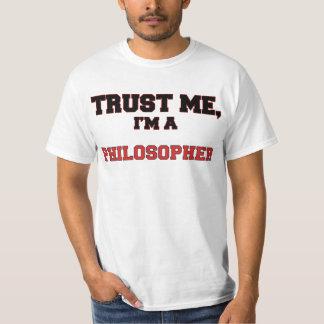 Confíe en que yo es mi filósofo playeras
