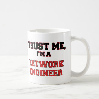 Confíe en que yo es mi ingeniero de la red taza