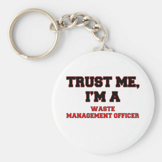 Confíe en que yo es mi oficial de la gestión de llaveros personalizados