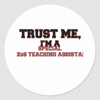 Confíe en que yo es mi profesor ayudante especial etiquetas
