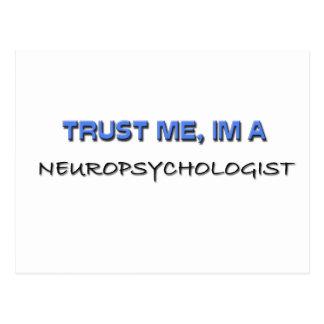 Confíe en que yo es neuropsicólogo postal
