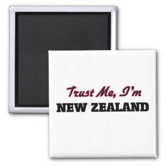 Confíe en que yo es Nueva Zelanda Imán De Frigorifico