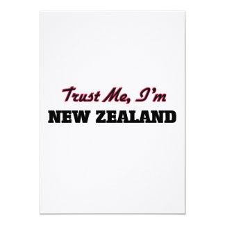 Confíe en que yo es Nueva Zelanda Invitación 12,7 X 17,8 Cm