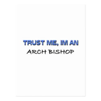 Confíe en que yo es obispo del arco tarjetas postales