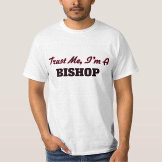 Confíe en que yo es obispo remera