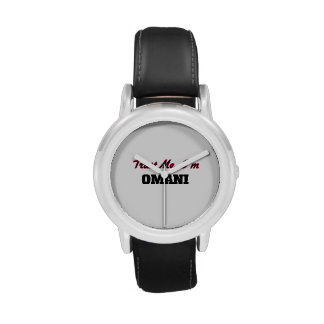 Confíe en que yo es omaní relojes de pulsera