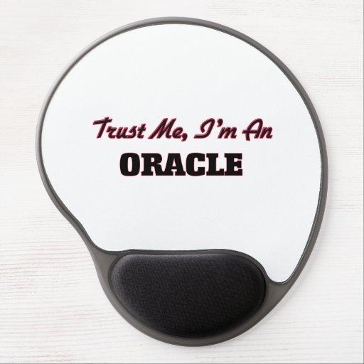 Confíe en que yo es Oracle Alfombrillas De Raton Con Gel