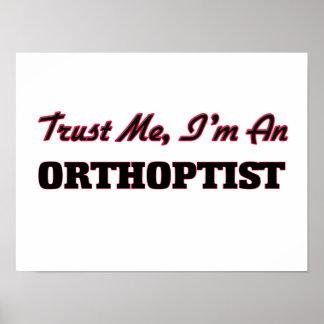 Confíe en que yo es Orthoptist Impresiones