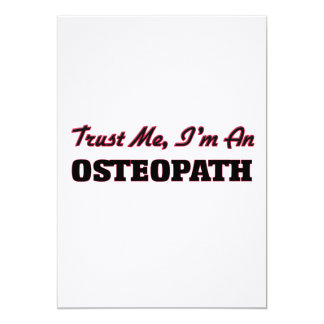 Confíe en que yo es osteópata anuncios personalizados