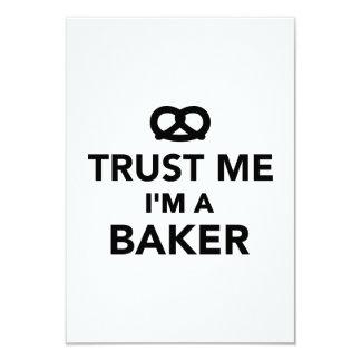 Confíe en que yo es panadero anuncio