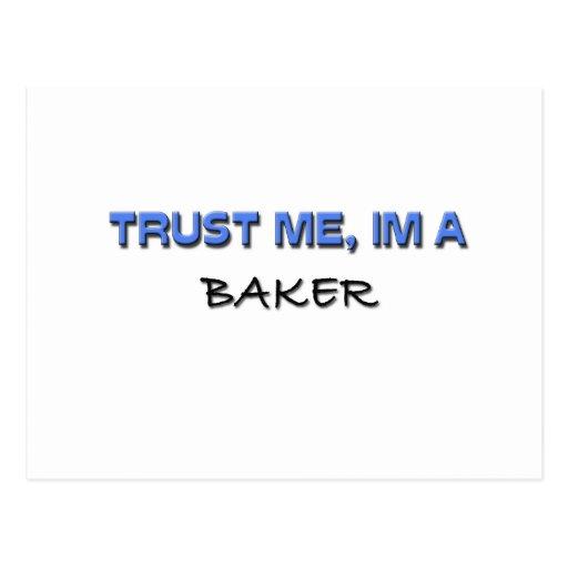 Confíe en que yo es panadero postal