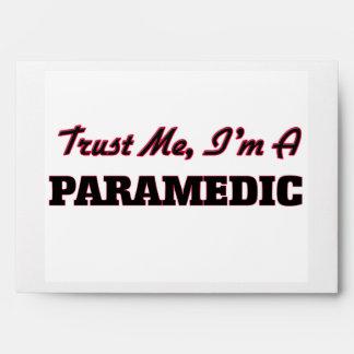 Confíe en que yo es paramédico