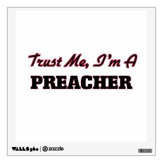 Confíe en que yo es predicador