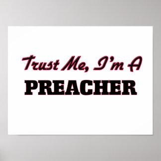 Confíe en que yo es predicador poster