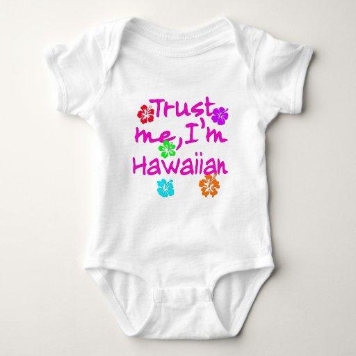 Confíe en que yo es productos hawaianos poleras