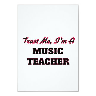 Confíe en que yo es profesor de música