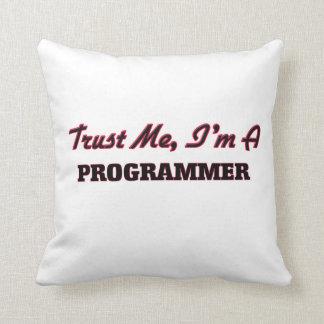 Confíe en que yo es programador almohada