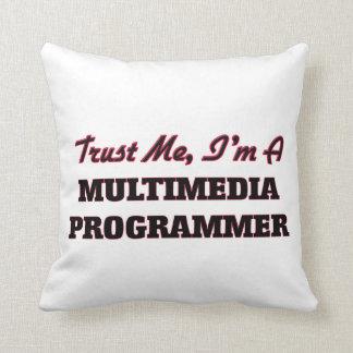 Confíe en que yo es programador de las multimedias cojin