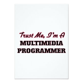 Confíe en que yo es programador de las multimedias comunicado