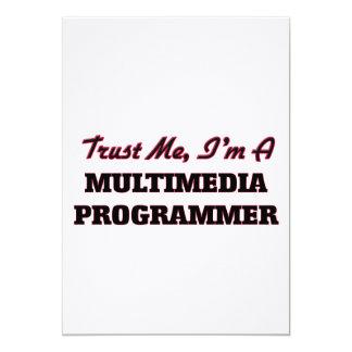 Confíe en que yo es programador de las multimedias comunicados personales