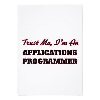 Confíe en que yo es programador de los usos invitacion personalizada