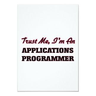 Confíe en que yo es programador de los usos invitación