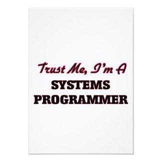 Confíe en que yo es programador comunicado personalizado