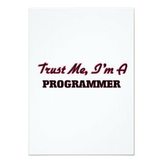 Confíe en que yo es programador anuncio