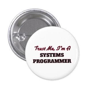 Confíe en que yo es programador pin