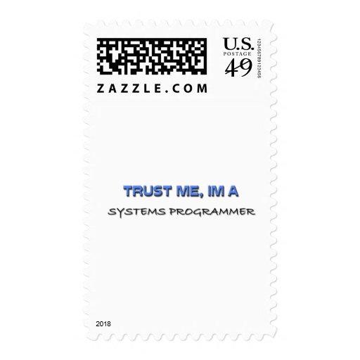 Confíe en que yo es programador sellos