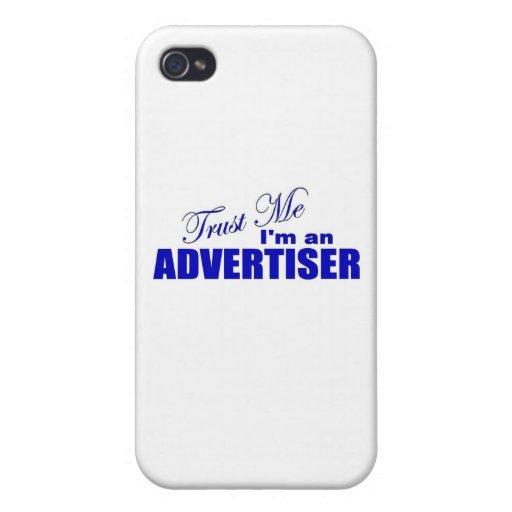 Confíe en que yo es publicista iPhone 4 fundas