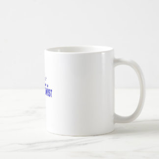 Confíe en que yo es recepcionista taza de café