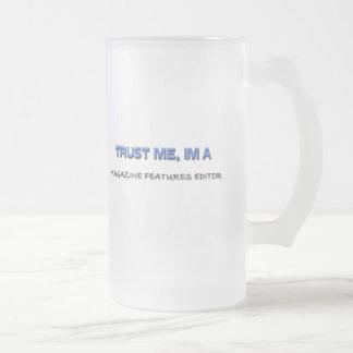 Confíe en que yo es redactor de las taza cristal mate