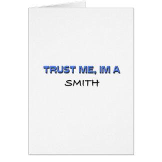Confíe en que yo es Smith Felicitacion