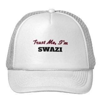 Confíe en que yo es Swazi Gorro