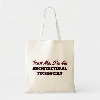 Confíe en que yo es técnico arquitectónico bolsas