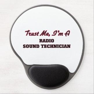 Confíe en que yo es técnico sano de radio alfombrilla de raton con gel