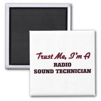 Confíe en que yo es técnico sano de radio imán para frigorifico